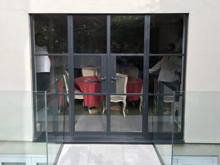 Traditional double doors W20 W40 W50 Thermal break