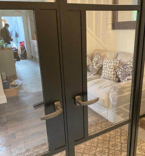 Steel-doors-double-handle